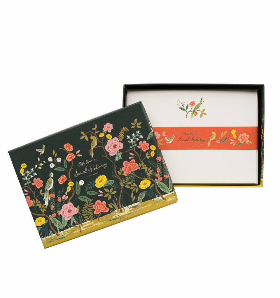 Shanghai Garden Social Stationery by Rifle Paper Co