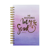 He Restores My Soul Journal by Mary Square