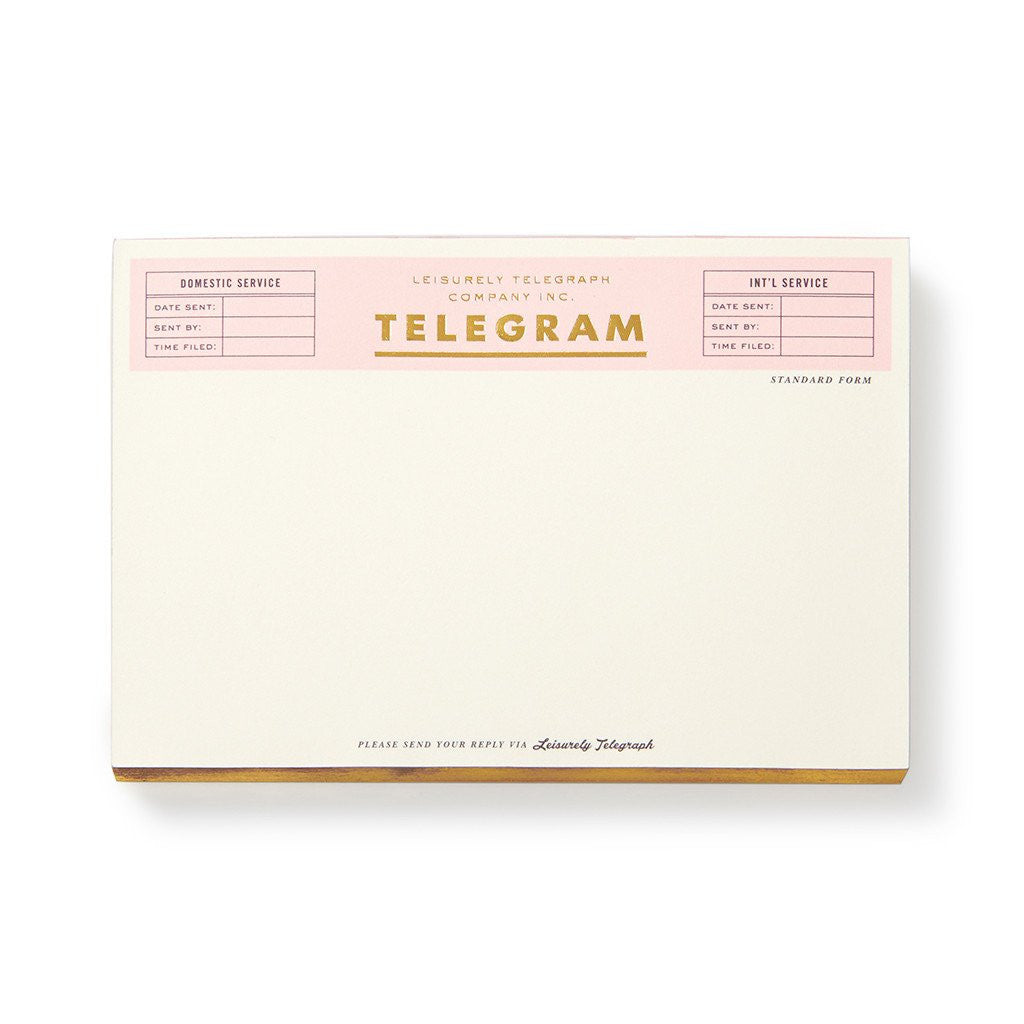 Telegram Notepad by Kate Spade