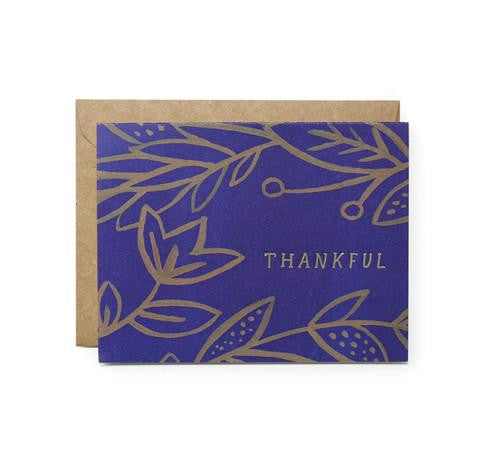 Thankful Vine Card by Moglea
