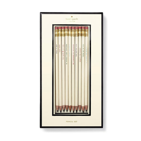 What's the Word Pencil Set by Kate Spade