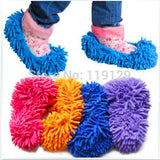 1 Pair of Mop Slippers - Fits Over Your Shoes or even your mop head (Color is a surprise!!)