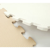 10 Pieces, Foam Mat - Pick Your Color, White OR Latte