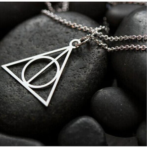 "Potterites!!  The Deathly Hallows ""Mark"" Comes on a Necklace!!"