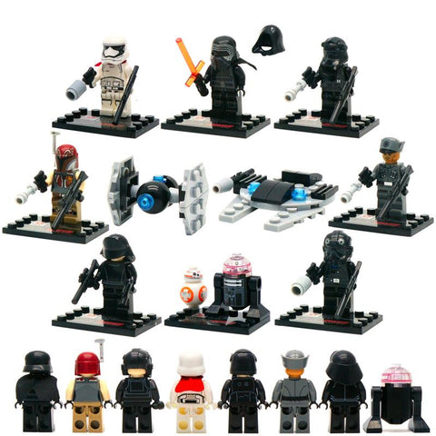 Star Wars LEGO Minifigures - 8 Characters in this Set