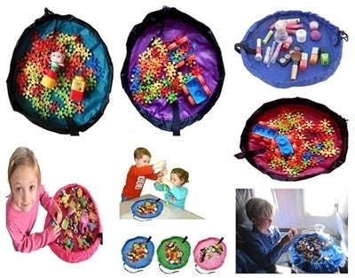 Table-Top Toy Mat - Great Idea In Place of Gift Wrapping!