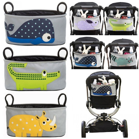 Animal Pop Art Stroller organizer
