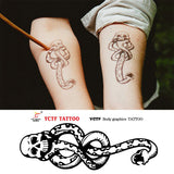 Temporart Waterproof Tattoos {Harry Potter}
