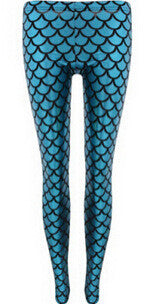 Mermaid Metallic Leggings