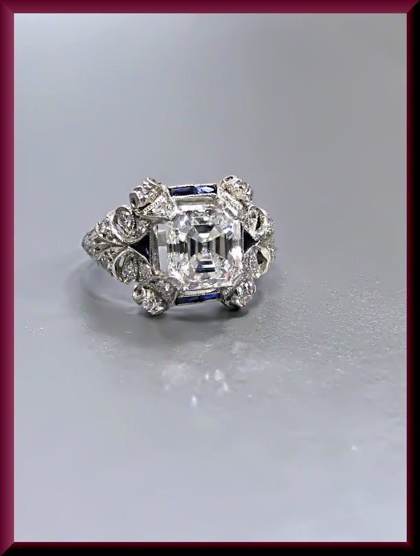 choosing rings blog or diamond band jewelry an emerald cut asscher wedding eternity bands ritani