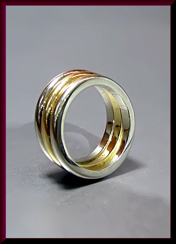 Vintage Cartier 18K Yellow Gold Ring/Band