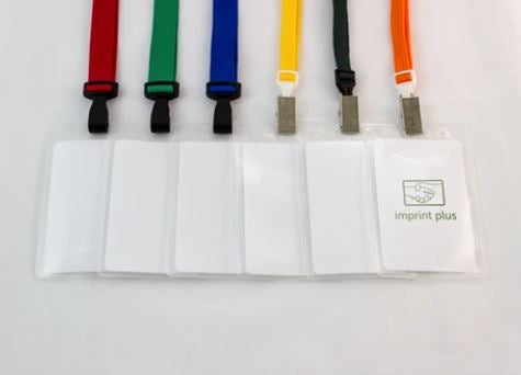 Lanyard Name Badge Kit 50 pcs