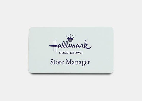 "Rectangle Name Badge Kit 1.5"" x 2.8"" 20 pcs"