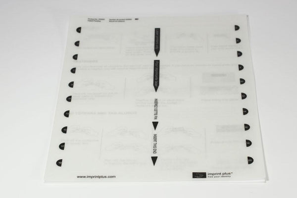 Insert Sheet Medium Plus 5 Pack Inkjet