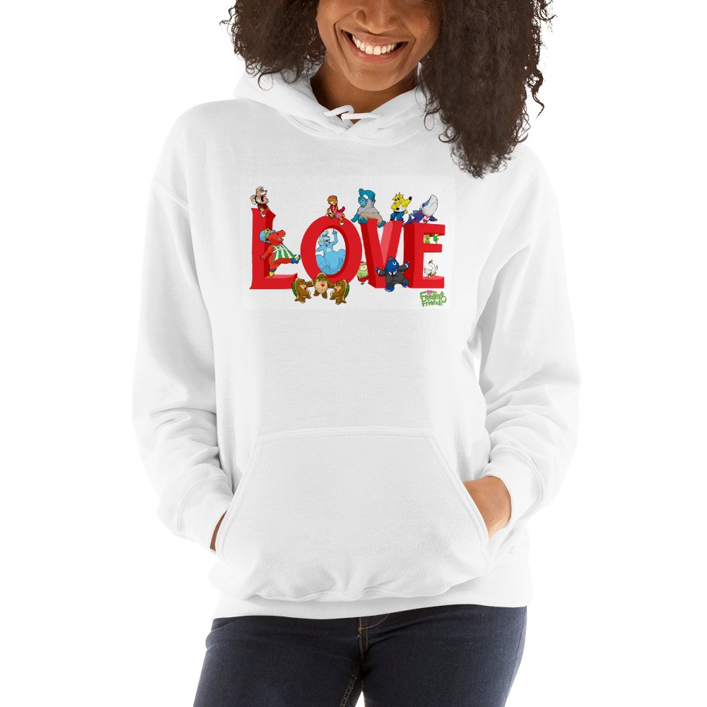 Love Women Sweatshirt Hoodies