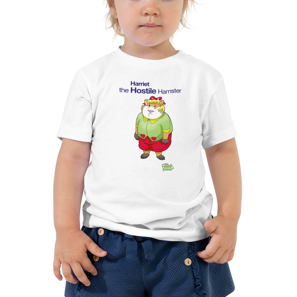 Harriet The Hostile Hamster™ Toddler T-Shirt