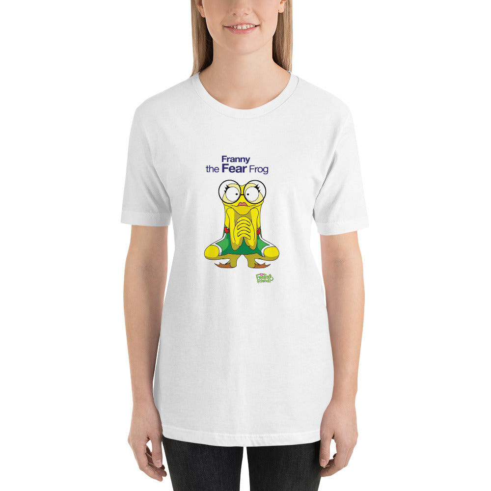 Franny The Fear Frog™ Womens T-Shirt