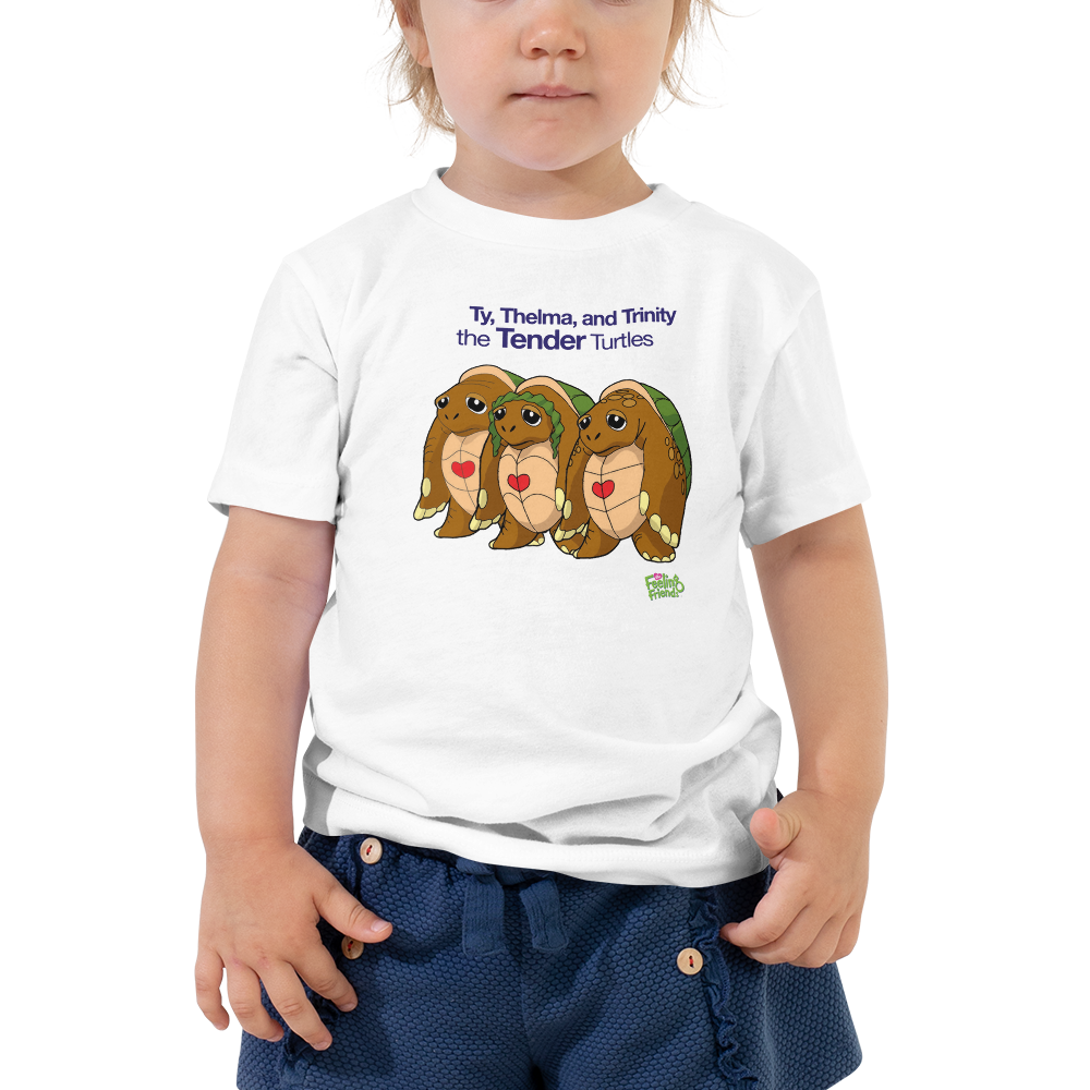 Ty, Thelma, and Trinity the Tenderness Turtle Trio™ Toddler T-Shirt