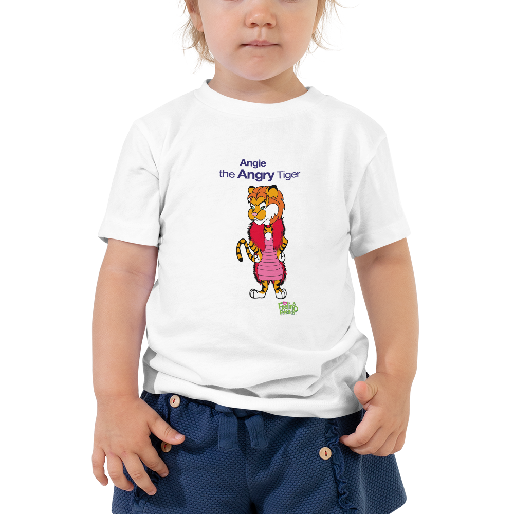 Angie The Angry Tiger™ Toddler T-Shirt