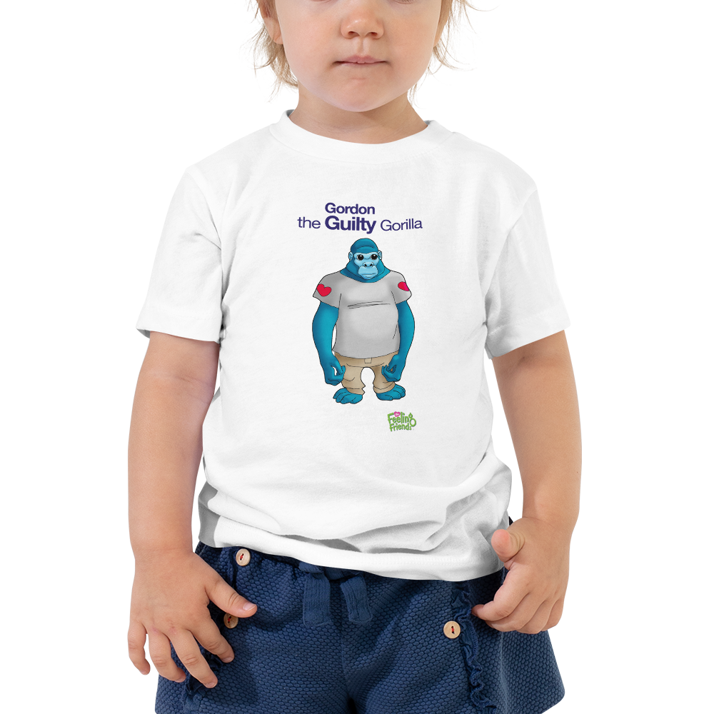 Gordon The Guilty Gorilla™ Toddler T-Shirt
