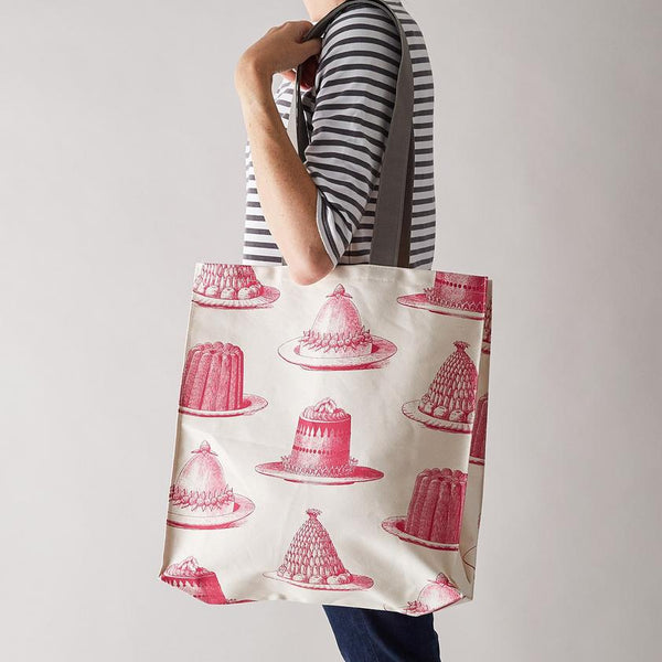 Pink Jelly & Cake Tote Bag by Thornback & Peel