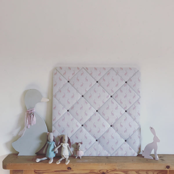 French Memoboard in Peony & Sage, Pink Icing Mini Hops
