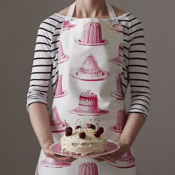 Pink Jelly & Cake Apron by Thornback & Peel
