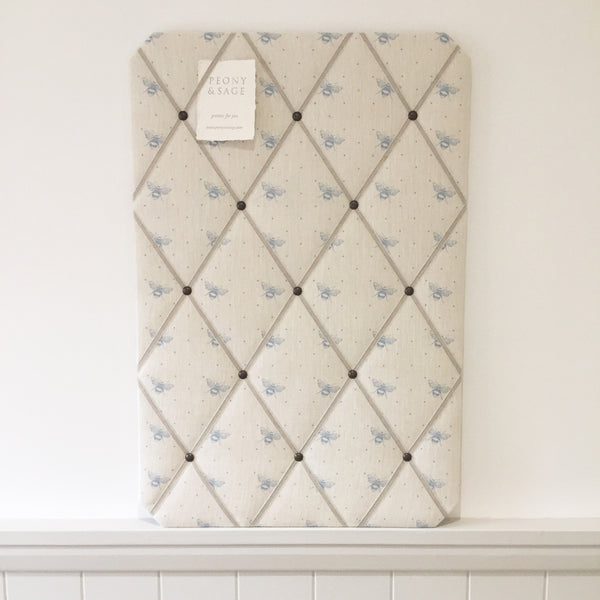 French Memoboard in Peony & Sage, Just Bees