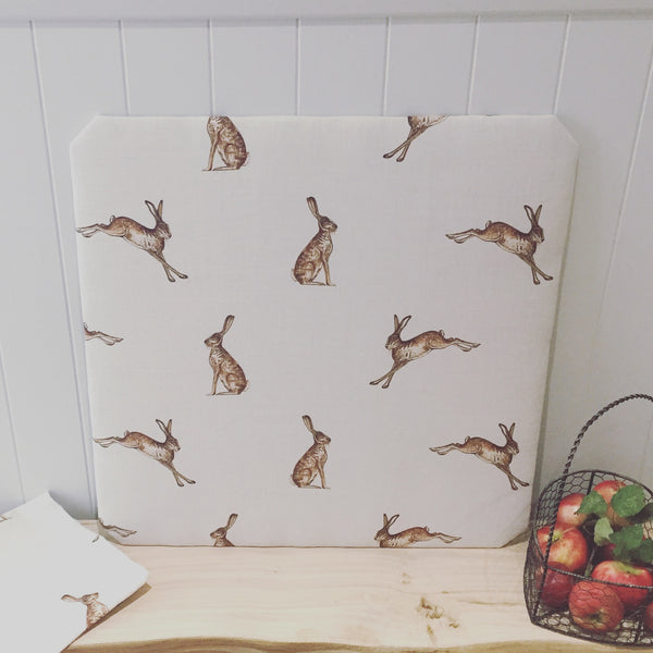 French Memoboard in Peony & Sage Mr Hare