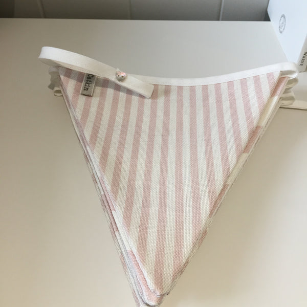 Peony & Sage Rabbit All Star Pink Bunting with Summerstripe