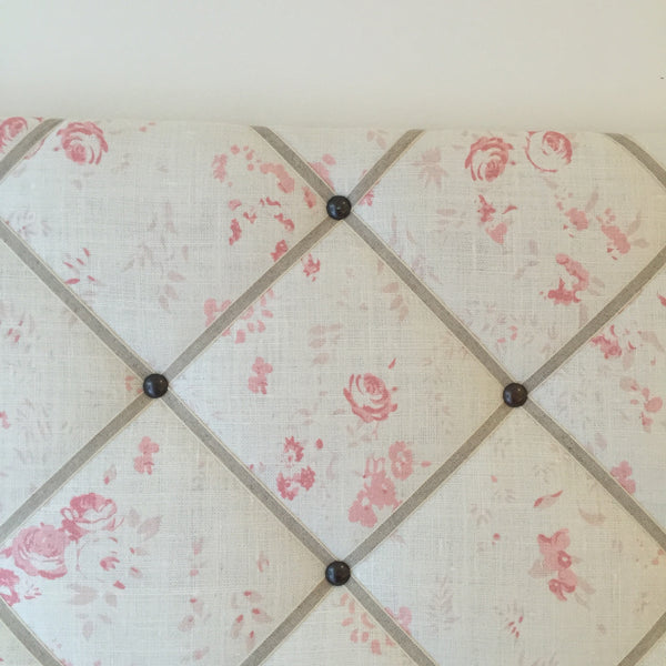 French Memoboard in Peony & Sage Lydia