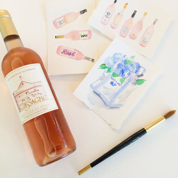 Rosé and Fresh Paint at Watson Kennedy