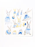 Blue Stripe Bunnies 2019 No. 1
