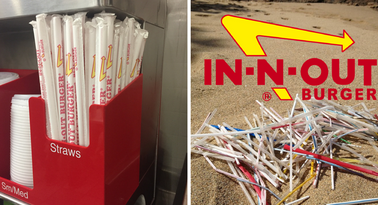 In-N-Out: Stop using plastic straws and we'll come dine