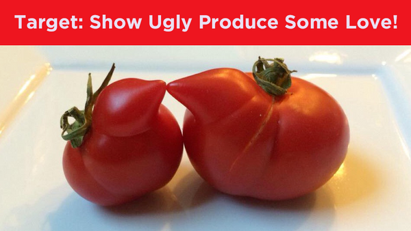 Target: Fight Food Waste! Sell Ugly Fruits and Vegetables