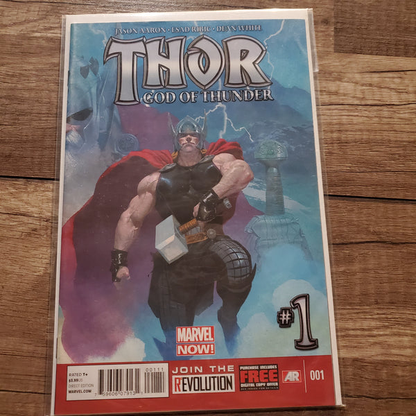 Thor God of Thunder #1