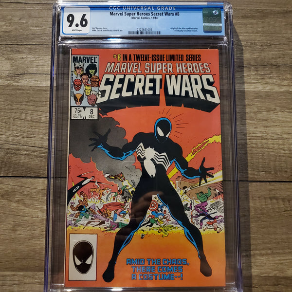 Marvel Super Heroes Secret Wars #8 CGC