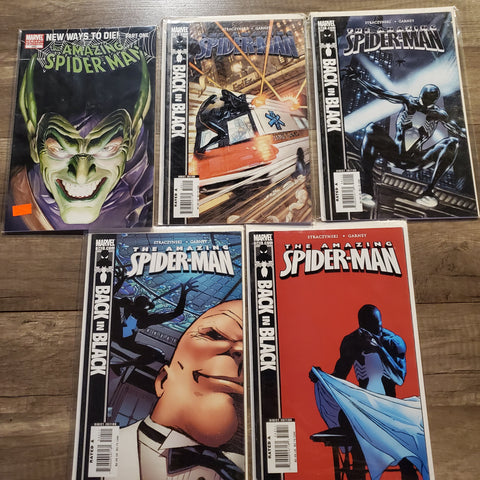 The Amazing Spider-Man Non Mystery Lot