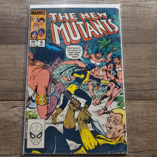 The New Mutants #8