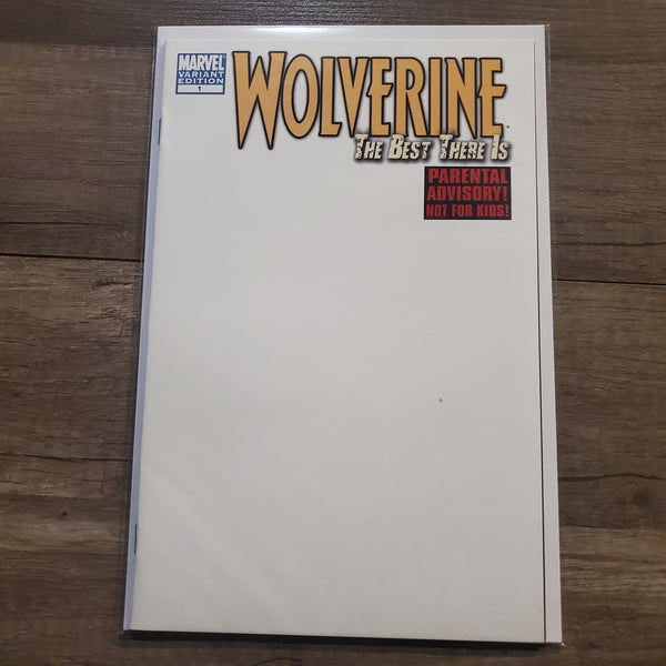 Wolverine #1 The Best there is