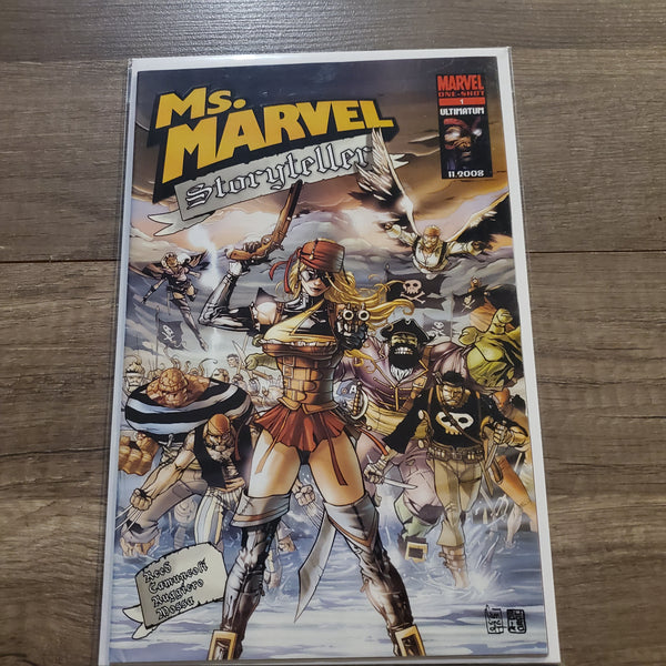 Ms. Marvel Storyteller #1