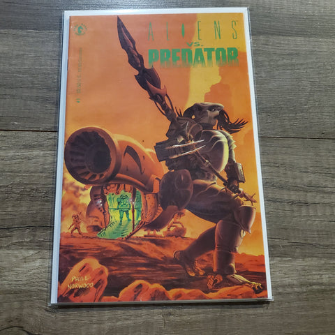 Aliens VS Predator #1