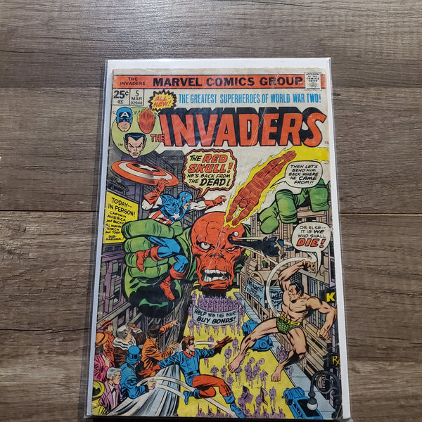 The Invaders #5