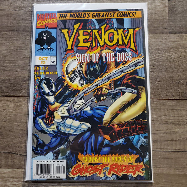 Venom #2 Sign of the boss