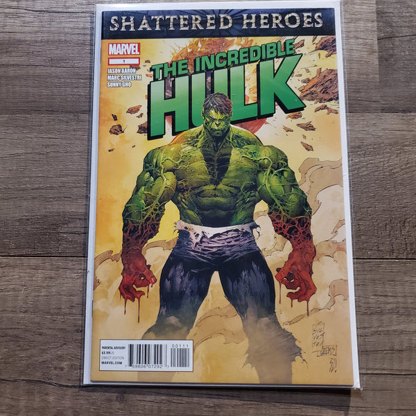 The Incredible Hulk #1 Shattered Heroes