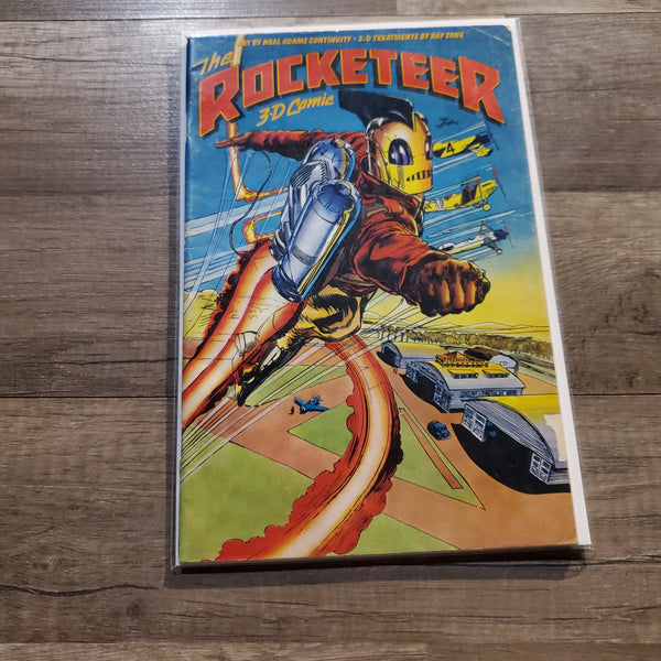 The Rocketeer #1 3D Comics