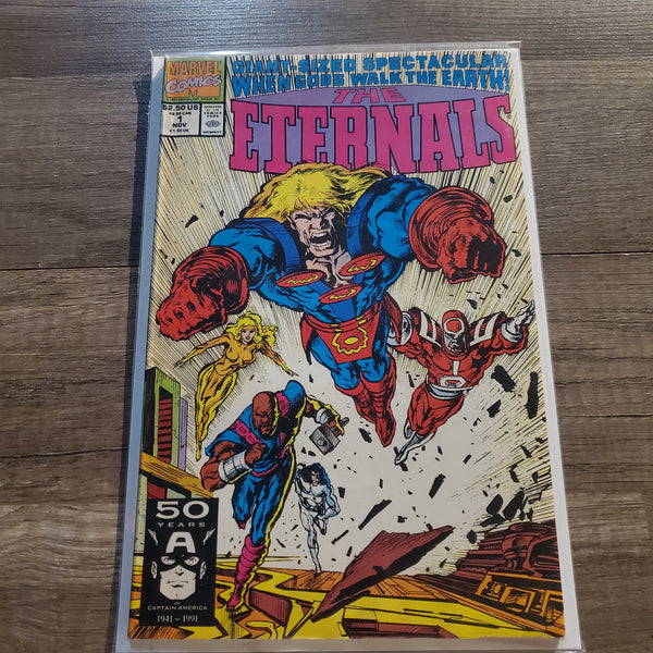 The Eternals #1 Giant Size Special