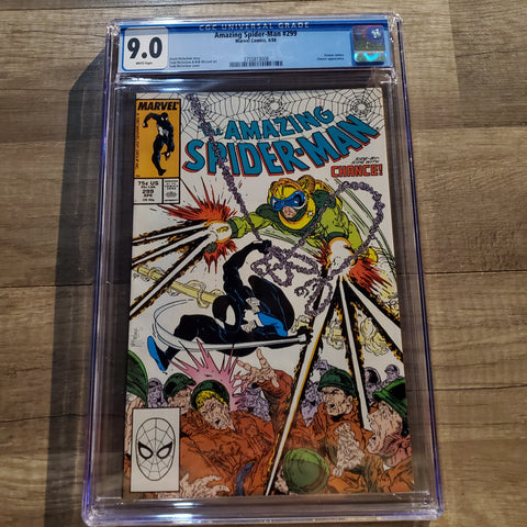 The Amazing Spider-Man #299 CGC