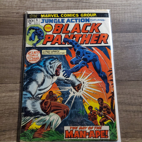Jungle action #5 The Black Panther