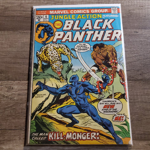 Jungle Action #6 The Black Panther